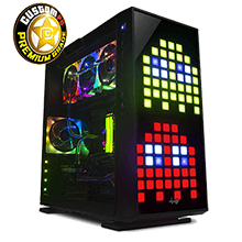 Inwin case Cyberpower UK Pc cooling System