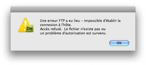 dreamweaver-sftp-error