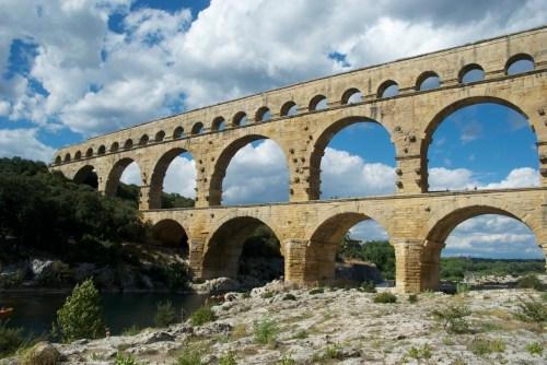 Pont du Gard @ Vers-Pont-du-Gard, France (2010)