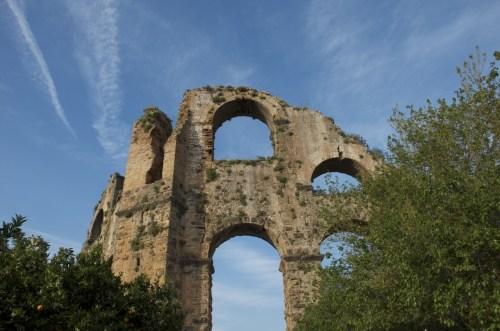 Aqueduc d'Aspendos, Turquie (14 avril 2013)
