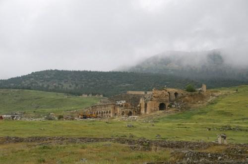 Hiérapolis, Pamukkale (Turquie - 15 avril 2013)