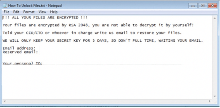How to remove ColdLock Ransomware and decrypt .locked files ...