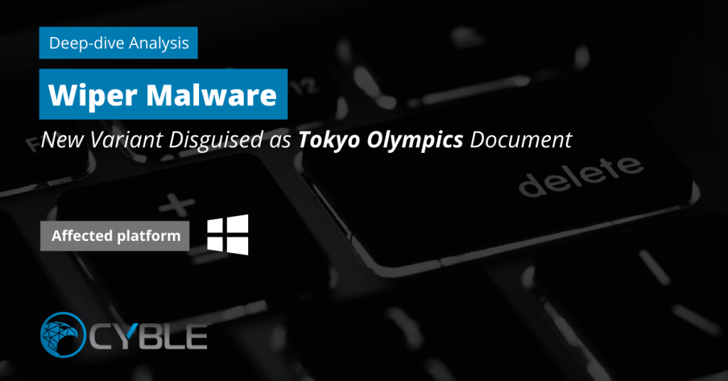 Cyble-Wiper-Malware-Tokyo-Olympics-Windows
