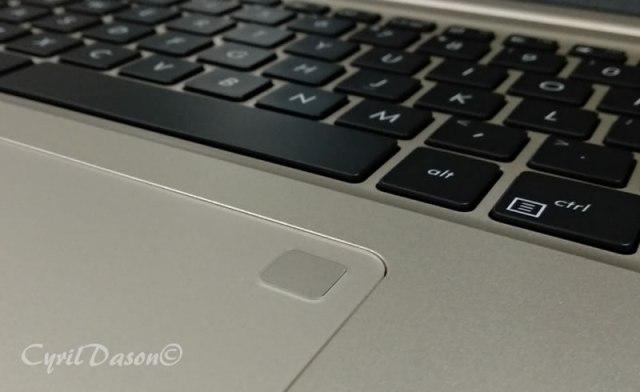 ASUS VivoBook S Fingerprint Scanner