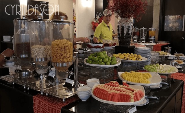 Hoi An Historic Hotel breakfast buffet