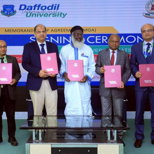 DIU Supports To Establish School of Engineering in Nigeria