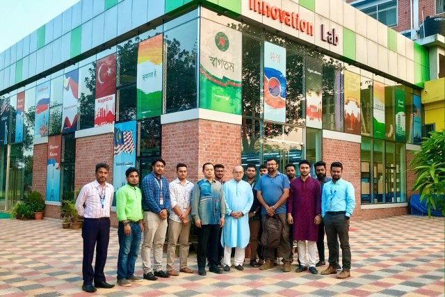 Innovation Lab of Daffodil International University Started To Invite Industry leaders