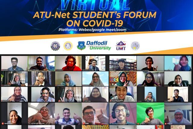 DIU Students joined ATU-NET's OGC: Pandemic & Engineering