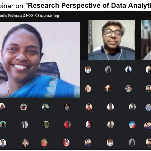 DIU hosted webinars on 'Research Perspective of Data Analytics' and 'Data Science in the Field of Epidemiology Data'