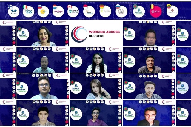 DIU students joined 'Working Across Borders' by UCLL, Belgium