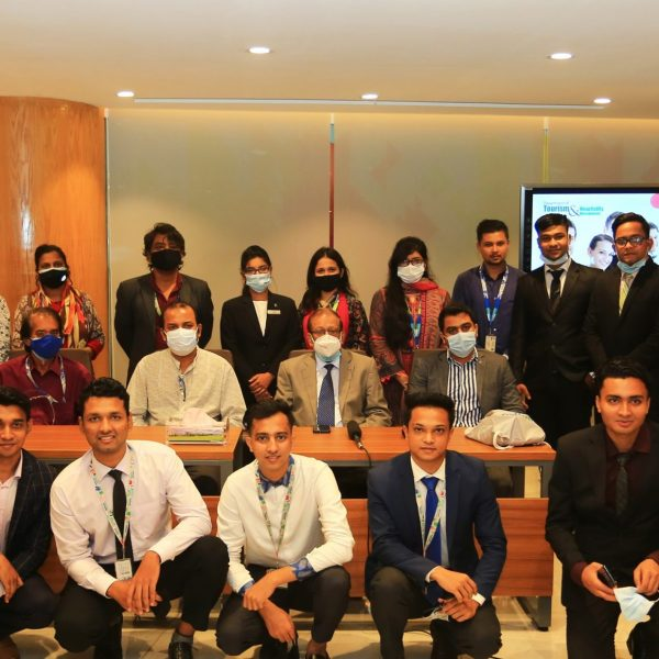 On-Campus Interview for the Students of Tourism & Hospitality Management