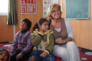 Dagmar Woehrl Fluechtlinge Kinder