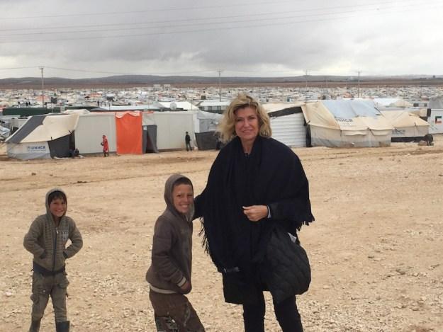 Dagmar Woehrl Fluechtlingslager