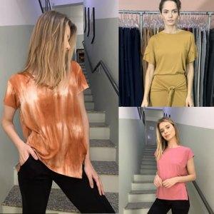 Coleção de camisas tee femininas