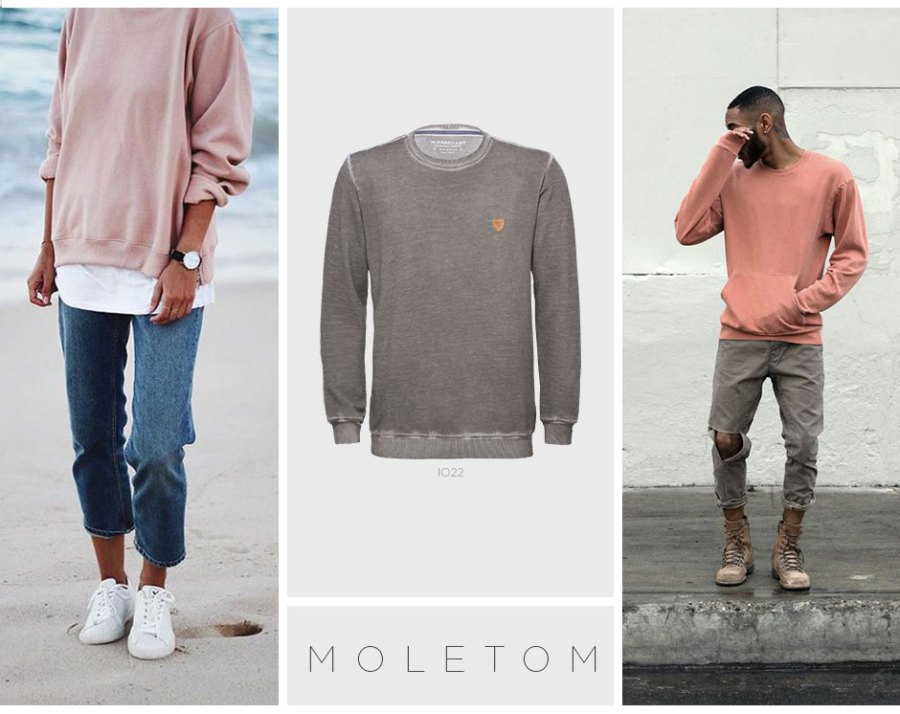 Moletom minimalista roupas do namorado