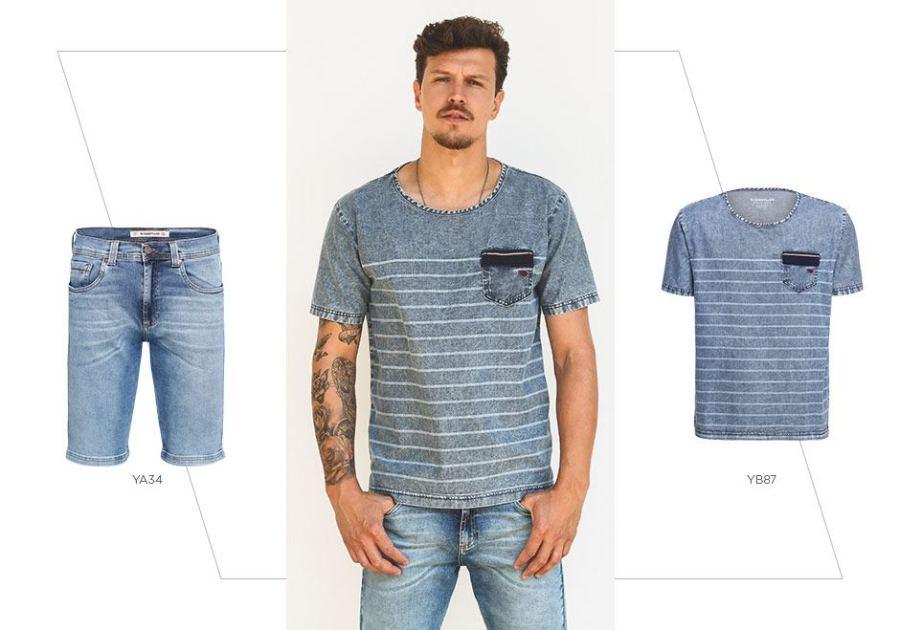 look total jeans para o verão
