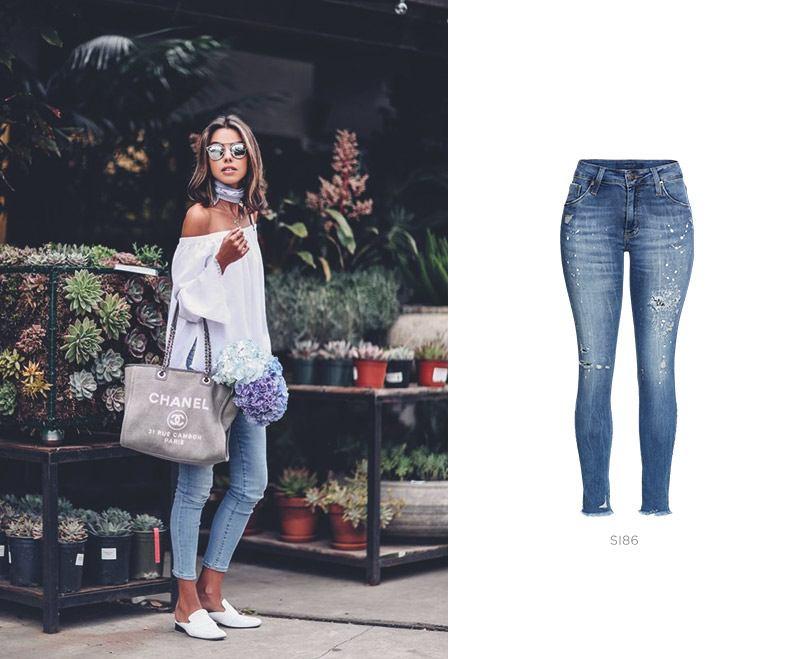 look feminino com calça jeans