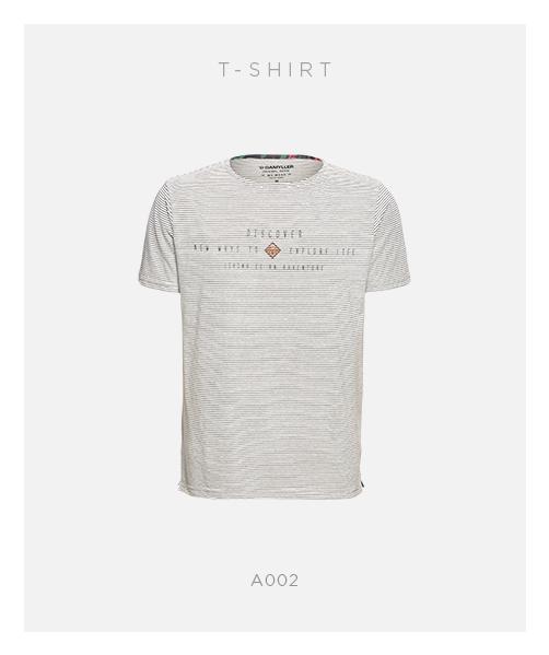 camiseta listrada damyller