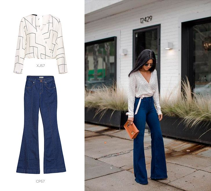 jeans flare damyller