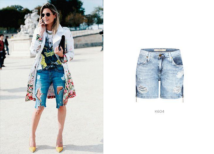 bermudas femininas jeans