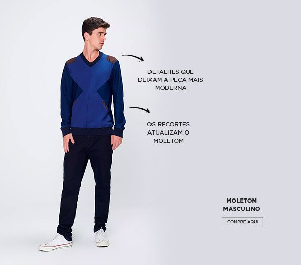 Look com moletom jeans