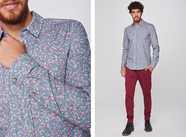 Camisa social com calça