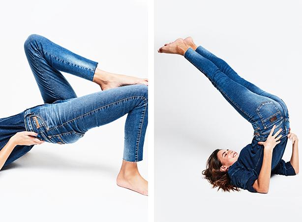 jeans confortável fit denim
