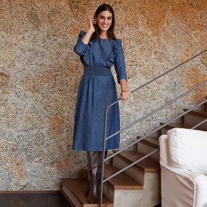 Office look: como usar vestido para trabalhar