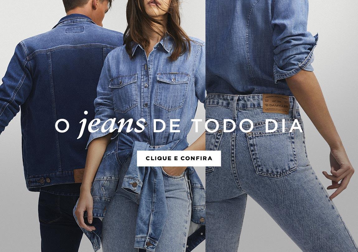 O jeans de todo dia