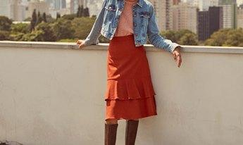 Jaqueta jeans curta