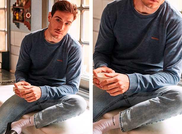 Presentes Dia dos Namorados: Look moletom com calça jeans