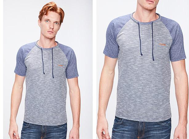 Camisetas masculinas com desconto