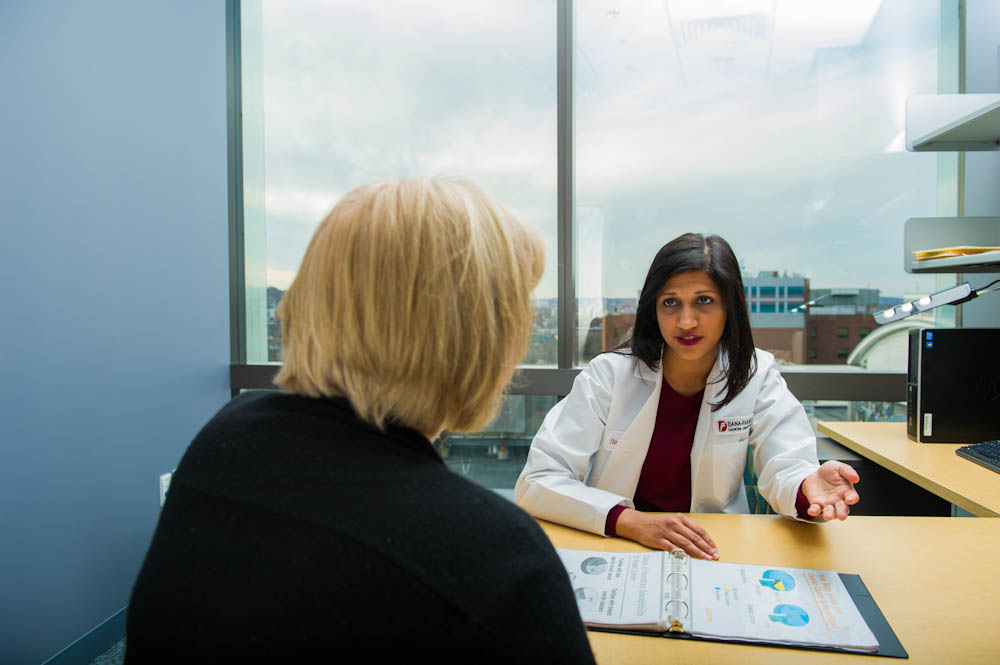 Huma Q. Rana, MD, medical director for Dana-Farber's Center for Cancer Genetics and Prevention.