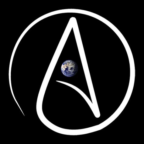 Атеизм белгісі.