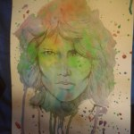 "Dantebus - ""Jim Morrison watercolour"" MidraXP"