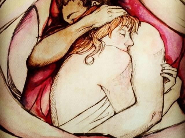 """Dantebus - """"L'abbraccio"""" La scarabocchia"""