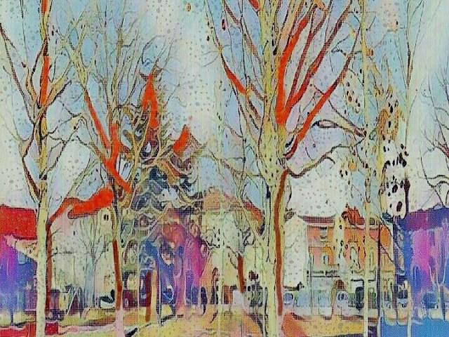 """Dantebus - """"Il parco si colora anche d'inverno"""" Artel"""