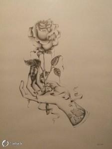 """Dantebus - """"Hand rose"""" Allia-b"""