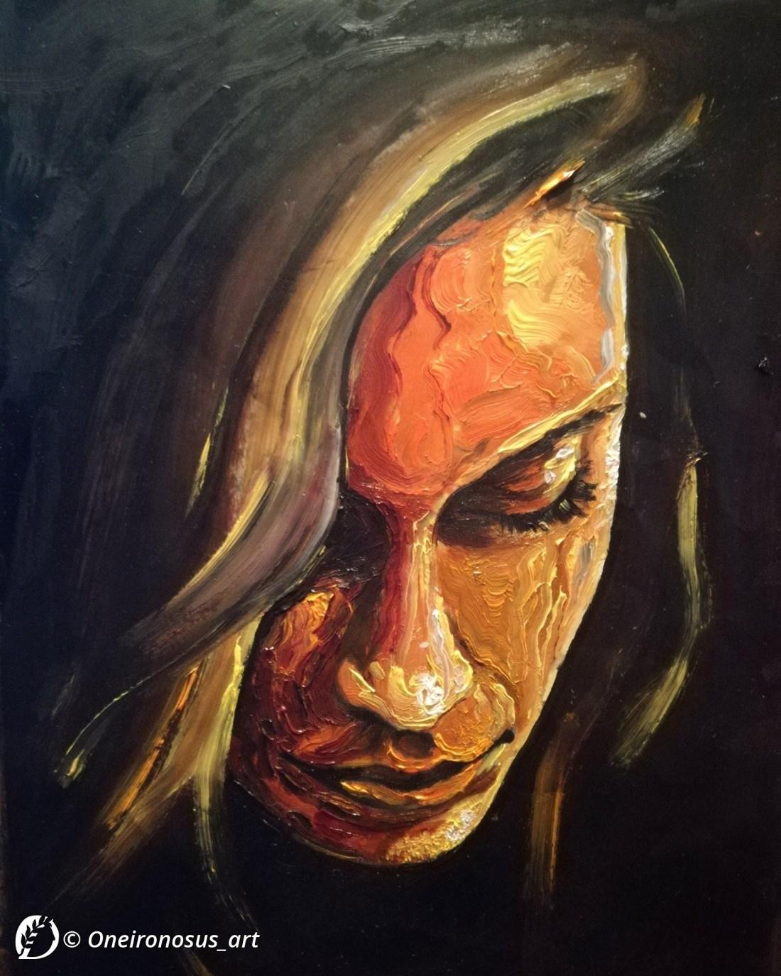 "Dantebus - ""Portrait study #2"" Oneironosus_art"