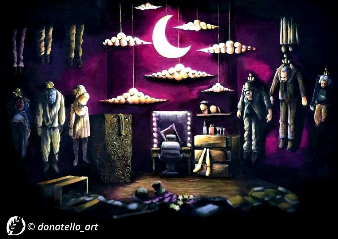 Dantebus - Il camerino della notte - Donatello_Art
