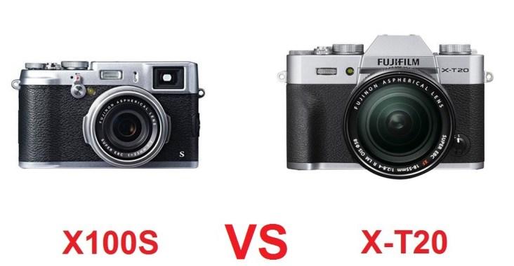 X100S VS XT20