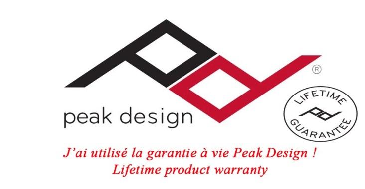 warranty peak design guarantee