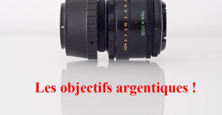 objectifs argentiques avis