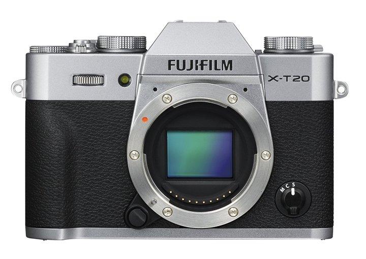 avis Fuji X-T20 capteur Fujifilm