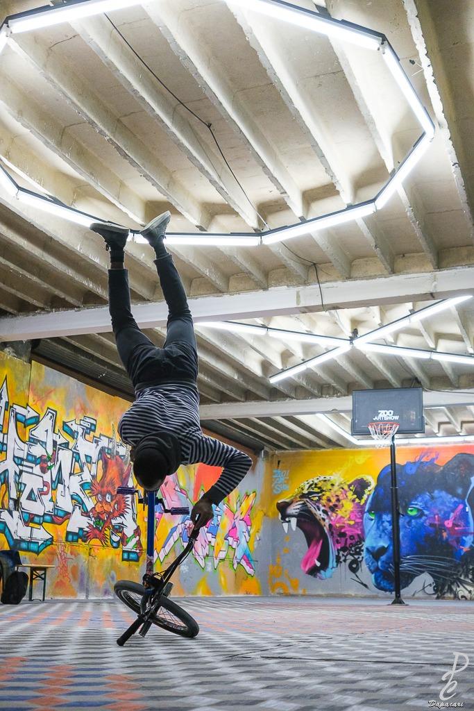 artiste BMX au zoo XXL 2020