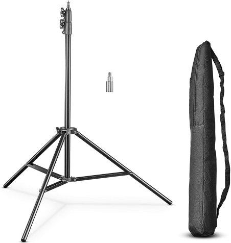 choisir un trépied de photo studio pour flash et parapluie