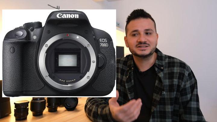 Mes début avec l'appareil photo Canon 700D