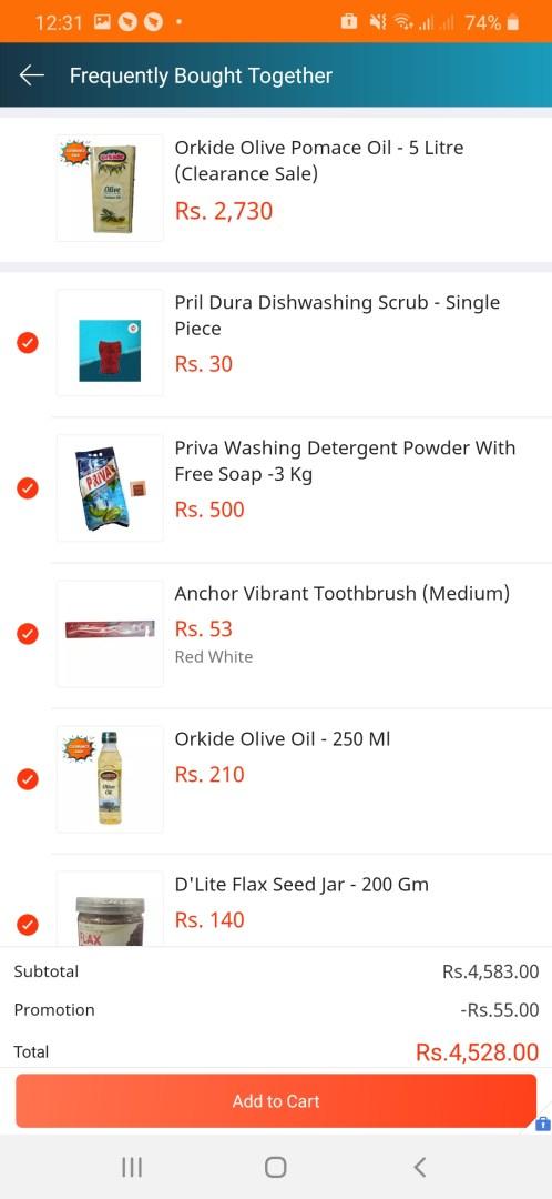 how to buy bundle offers in daraz