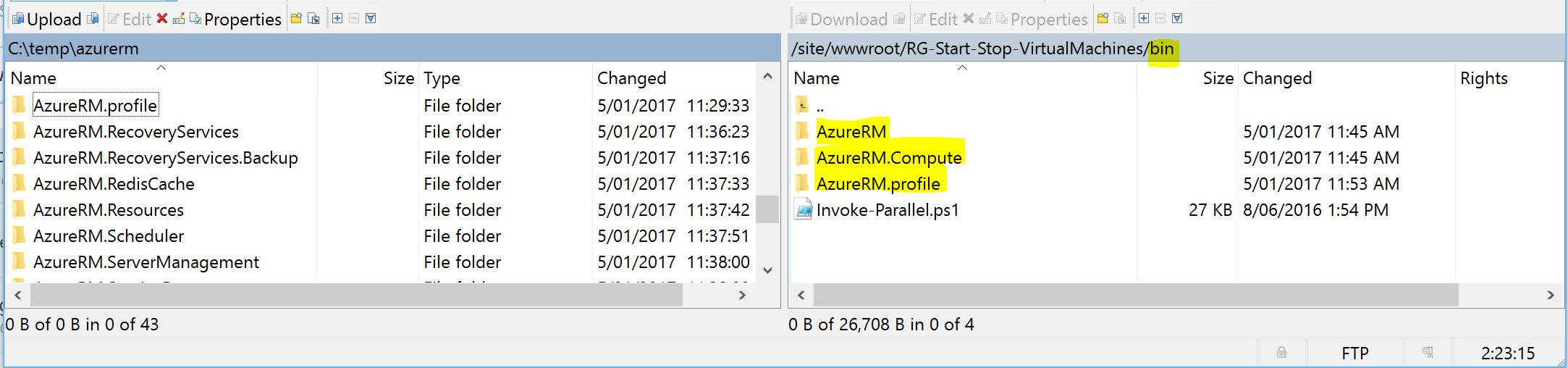 How to create an Azure Function App to Simultaneously Start