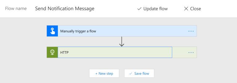 Microsoft Flow Config 1